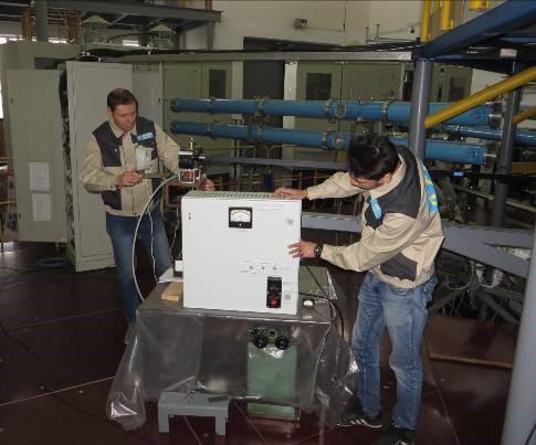 КТМ токамагында құрастырылған әуелгі ионизациялау жүйесі