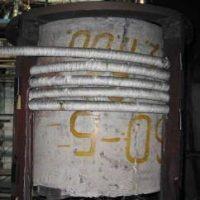 Индукциялық жылытқышы бар бетонды тұзақ